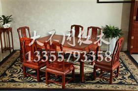 国色天香桌椅