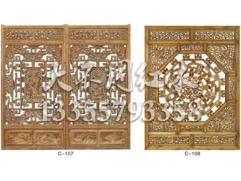 仿古中式门窗