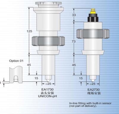 安裝件EA 1730 EA 2730