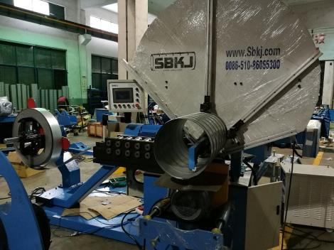 螺旋风管机加厚型SBTF-1500C