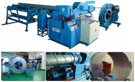 大管径加厚型固定模螺旋风管机SBTF-2020