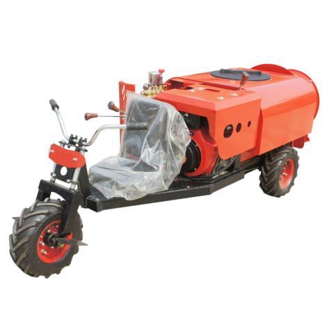 三輪乘臥式自走式柴油果園風送噴霧機打藥機