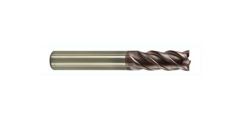 4刃高效率圓鼻鎢鋼銑刀