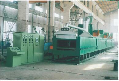 網帶式硫化發泡爐