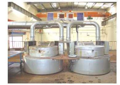 井式液體氮化爐