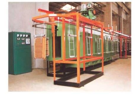 懸掛鏈式汽車水箱釬焊爐