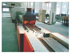 網帶式保護氣氛管材爐