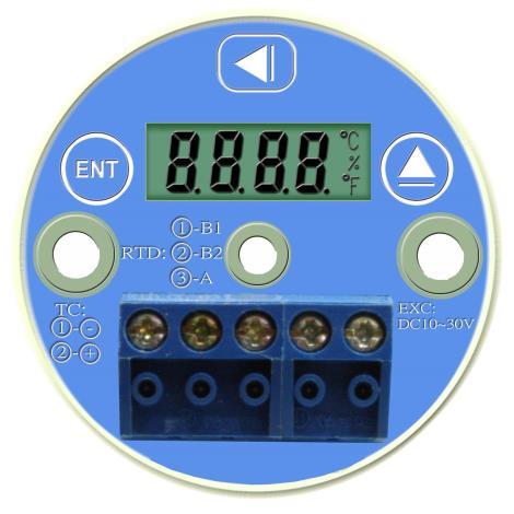 两线式温度传送器TW