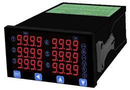 微电脑型6组模拟输入盘面式电表MM8A