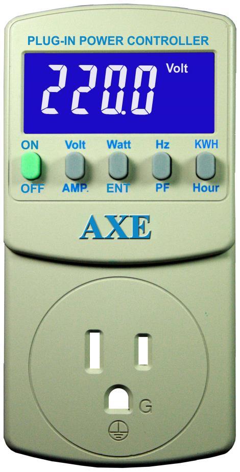 插座式7合1交流精密电源控制器AXE-2