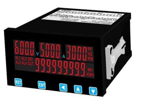 多功能单相交流集合式电力电表MMP-1