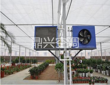 大棚养殖暖风机运行平稳