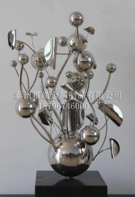 金属雕塑不锈钢工艺品厂家定制