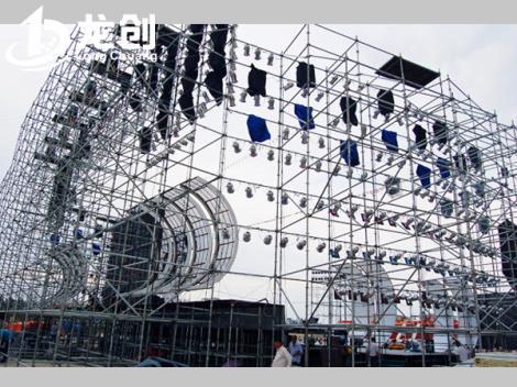 圓盤式桁架搭建生產商