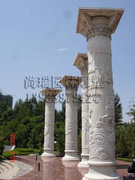 河北石雕柱子