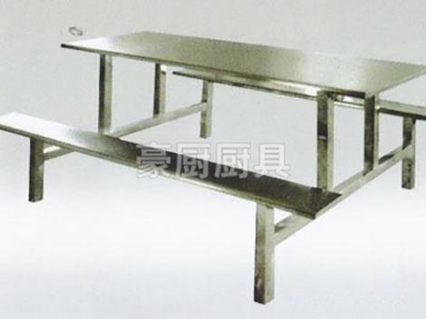 不銹鋼條凳餐椅
