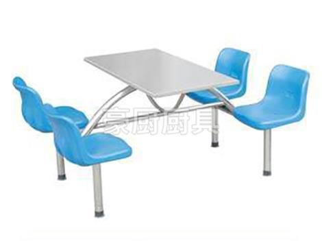 四人不銹鋼餐椅