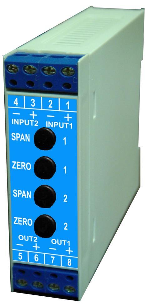 薄型两线式直流隔离传送器STD-T