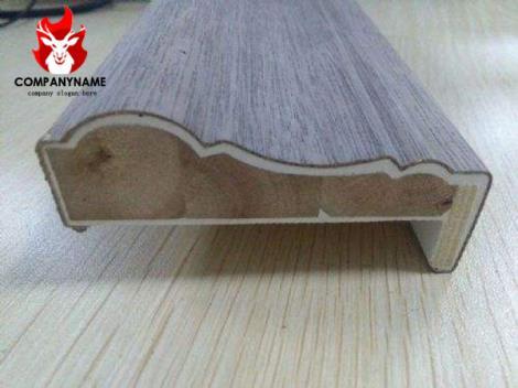 线条木皮包覆