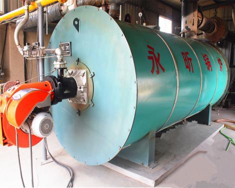 燃油导热油锅炉安装