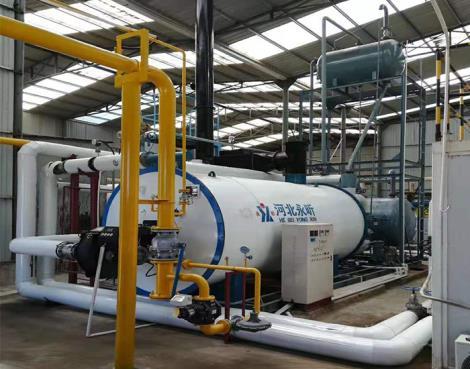 燃油气导热油炉安装