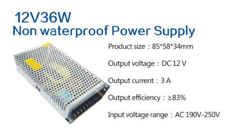 12V36W室外电源