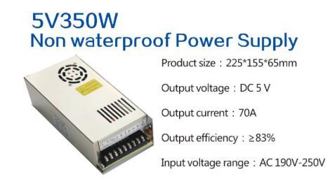5V350W Non waterproof Power Supply