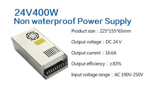 24V400W Non waterproof Power Supply