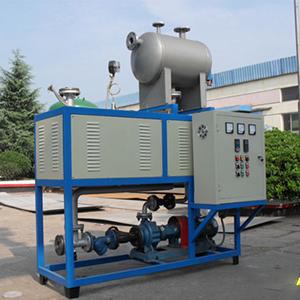 电加热油炉安装