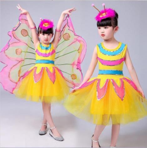 兒童蝴蝶裝扮服批發商