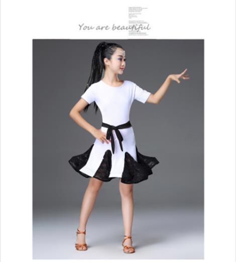 兒童拉丁舞蹈服廠家