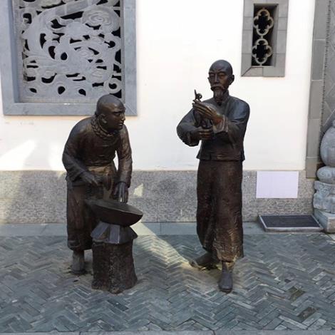 铸铜校园雕塑