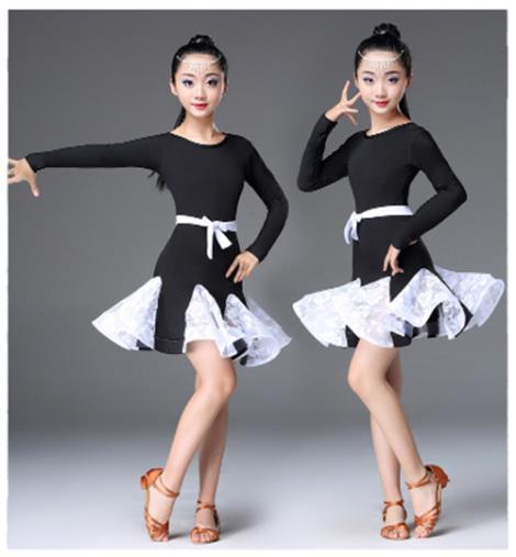 兒童拉丁舞蹈服批發商