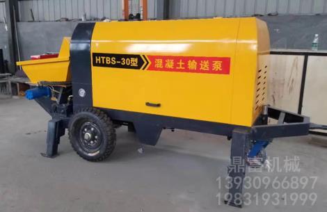 模块建房专用混凝土输送泵生产厂家
