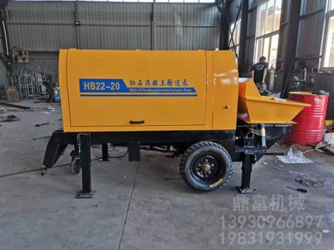 模块建房专用混凝土输送泵批发