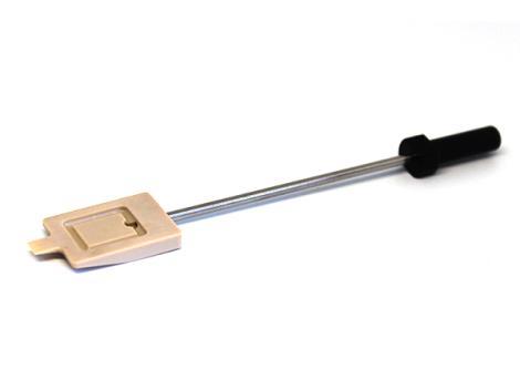 PEEK  2寸方形带铲吸笔