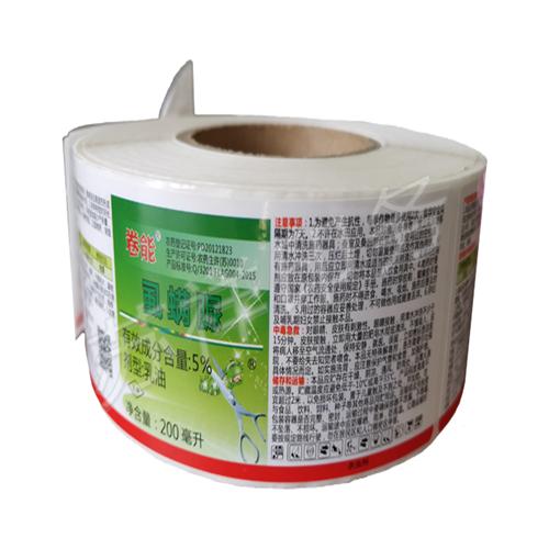 南京卷筒不干胶标签