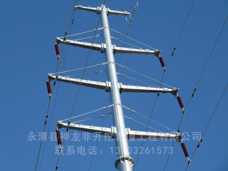 电力钢杆供货商