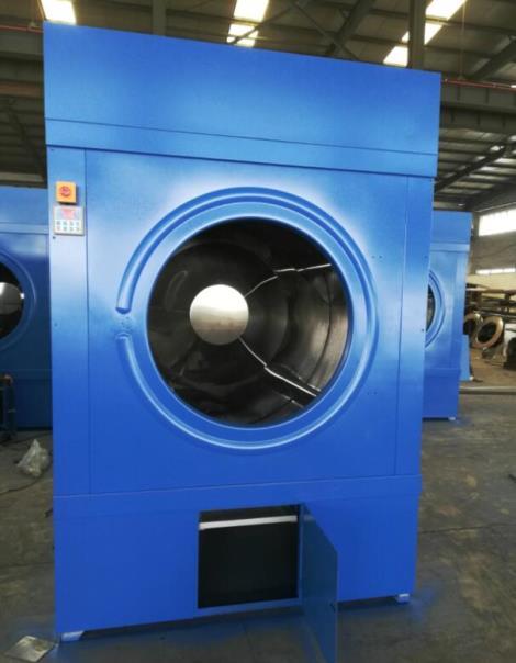大型噴淋150公斤搖粒工業烘干機