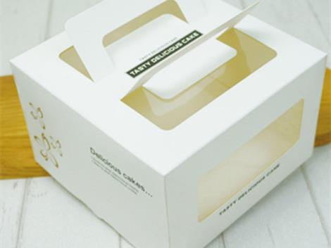 蛋糕盒实物图