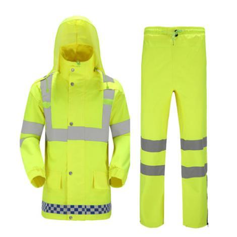 交通用反光雨衣加工