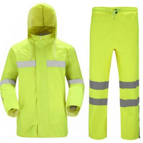 警示工作服雨衣
