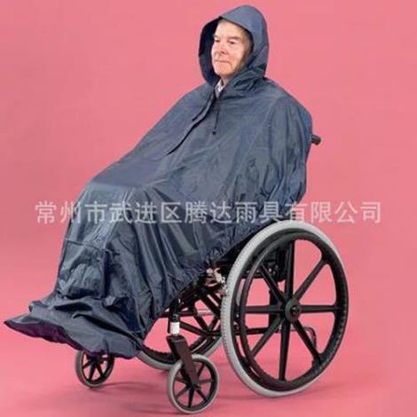 轮椅雨披加工