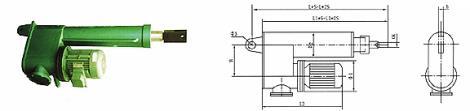 DYT(B)-CS型電液推桿