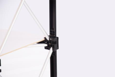 拉网促销台2.2弧形
