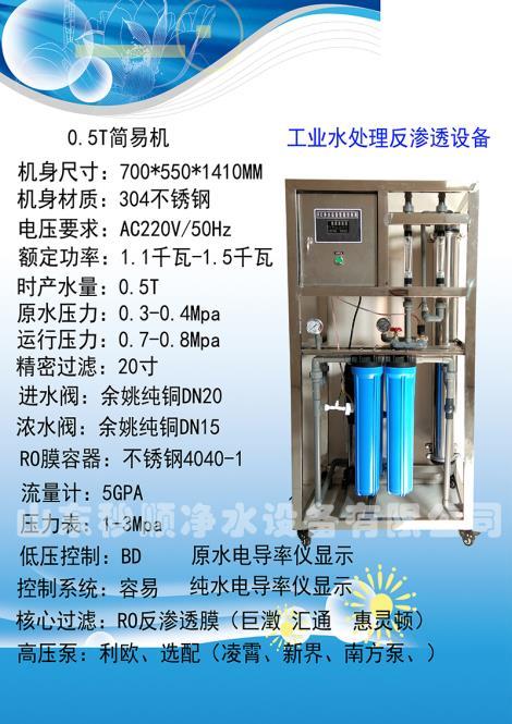 工业水处理反渗透设备