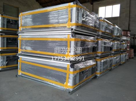 江山生产热回收新风机组