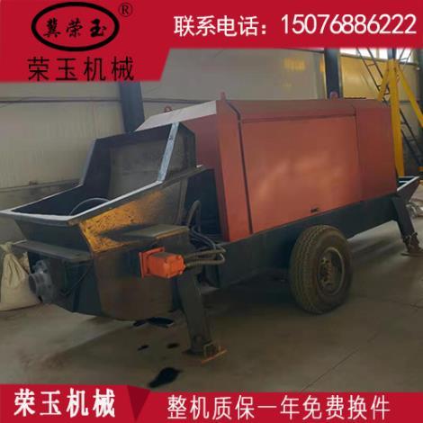 LZ-60型细石混凝土泵维修