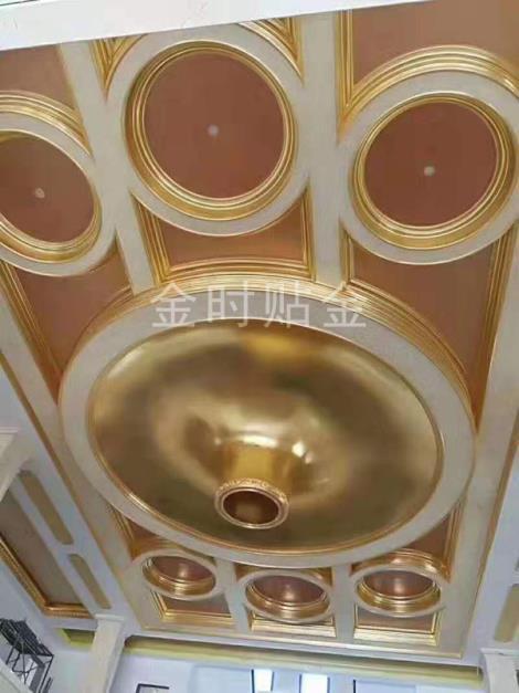 南京酒店會所貼金貼銀