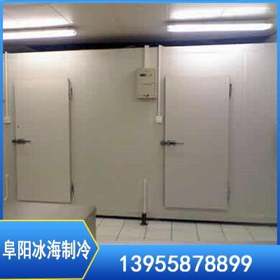 安装冷藏库